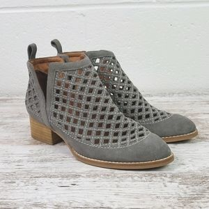 Jeffrey Campbell Anthropologie Taggart Bootie 7